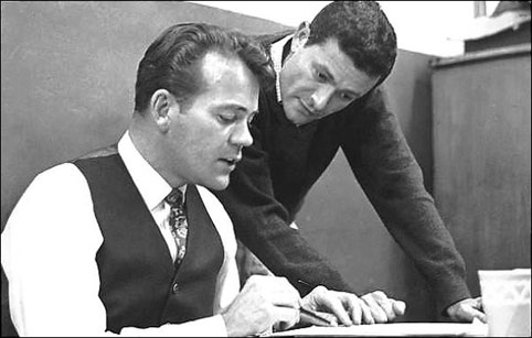 Jerry Herman and Don Pippin, 1966
