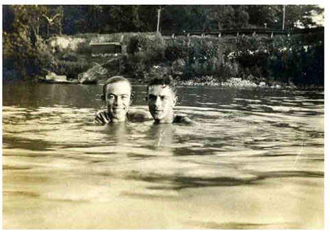 vintage-gay-swimmers-skinny Come sit beside me by this mountain stream,