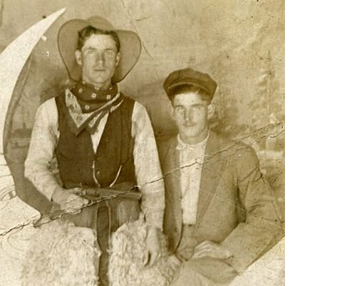 gay cowboys vintage photograph source unknown